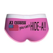 Al Quada can't Hide-a!! Women's Boy Brief