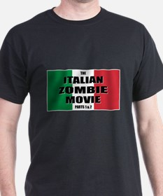 Italian Zombie Movie Logo T-Shirt