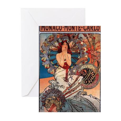 Alphonse Mucha Greeting Cards (Pk of 10)