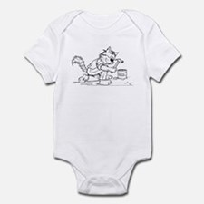 Carpenter Cat Infant Bodysuit