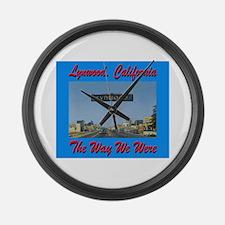 Lynwood California Large Wall Clock