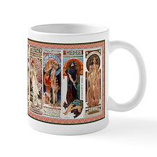 Alphonse Mucha Small Mug