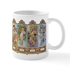 Alphonse Mucha Small Mugs