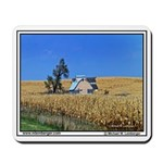 Iowa Corn Field, Iowa, Building in corn, Mousepad