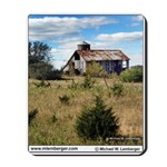 Barn, E of Agency, Iowa, Farm, Mousepad