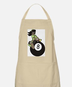 Girl on 8 Ball 2 Apron