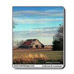 Barn, Wapello County, Iowa, Mousepad