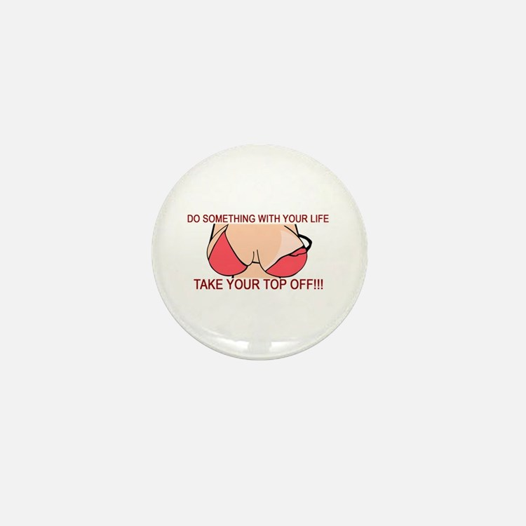 Something With Your Life Mini Button