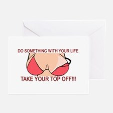 Something With Your Life Greeting Cards (Pk of 10)