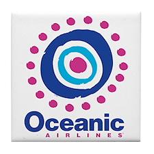 Oceanic Air Tile Coaster