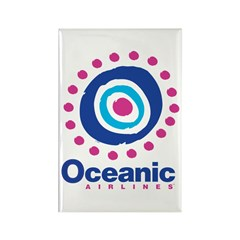 Oceanic Air Rectangle Magnet