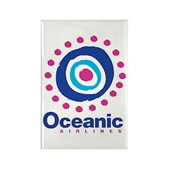 Oceanic Air Rectangle Magnet