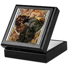 Alphonse Mucha Keepsake Box