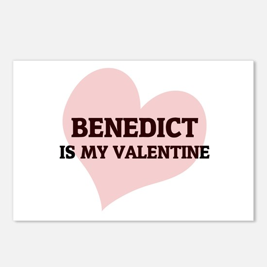 Benedict Is My Valentine Postcards (Package of 8)