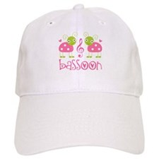 Cute Bassoon Ladybug Baseball Cap