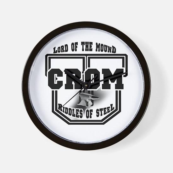 Crom University Wall Clock