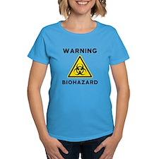 Biohazard Warning Sign Tee