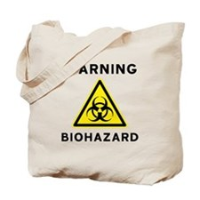 Biohazard Warning Sign Tote Bag