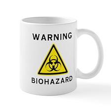 Biohazard Warning Sign Mug