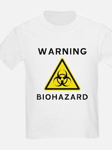 Biohazard Warning Sign T-Shirt