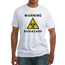 Biohazard Warning Sign Shirt