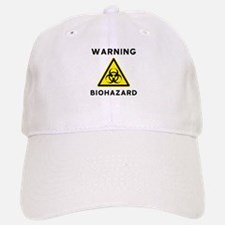 Biohazard Warning Sign Baseball Baseball Cap