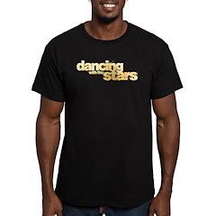 DWTS Logo Men's Fitted T-Shirt (dark)