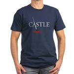 Castle Men's Fitted T-Shirt (dark)
