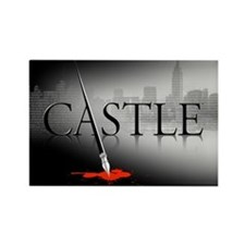 Castle Rectangle Magnet