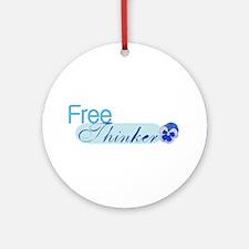 Free Thinker Ornament (Round)