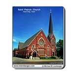 St. Patrick Catholic Church, Iowa City, Mousepad