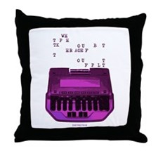 Unique Education occupations Throw Pillow