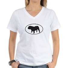 English Bulldog Silhouette Shirt