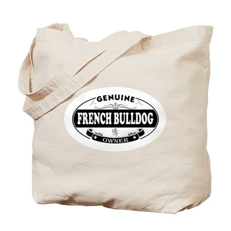 Genuine French Bulldog Owner Tote Bag