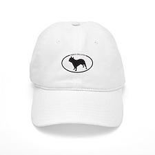 French Bulldog Silhouette Baseball Cap