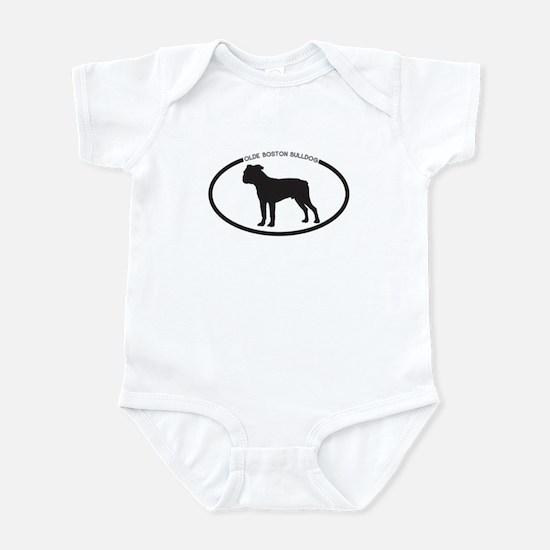 Olde Boston Bulldog Infant Bodysuit