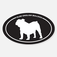 Olde English Bulldog Decal