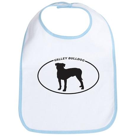 Valley Bulldog Silhouette Bib