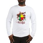 Butterfly Benin Long Sleeve T-Shirt