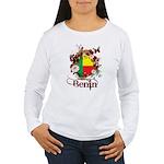 Butterfly Benin Women's Long Sleeve T-Shirt