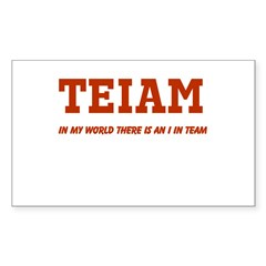 I in Team (no star) Decal