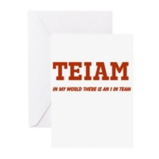 I in Team (no star) Greeting Cards (Pk of 20)
