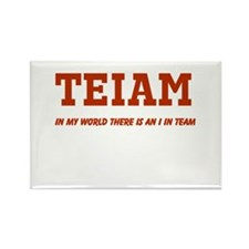 I in Team (no star) Rectangle Magnet (10 pack)
