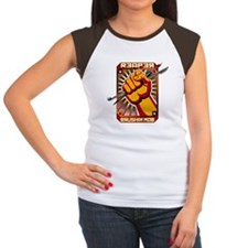 Brushin Mob Women's Cap Sleeve T-Shirt