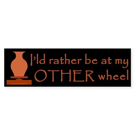 Other Wheel for Potters Sticker (Bumper)