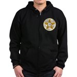 Pulaski County Sheriff Zip Hoodie (dark)