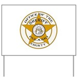 Pulaski County Sheriff Yard Sign