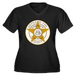 Pulaski County Sheriff Women's Plus Size V-Neck Da