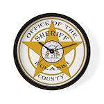 Pulaski County Sheriff Wall Clock