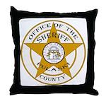Pulaski County Sheriff Throw Pillow